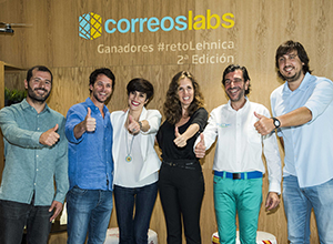 CORREOS takes part in SOUTH SUMMIT 2018 with the startups which won the 2nd series of the Reto Lehnica