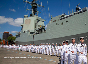 The Royal Australian Navy receives the second vessel with NAVANTIA's design and technology