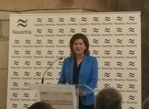 "Ms. Susana de Sarriá: ""Artificial intelligence will start at Ferrol shipyard in 2019"""