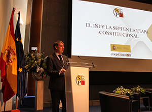 SEPI joins up the events commemorating the 40th anniversary of the Constitution