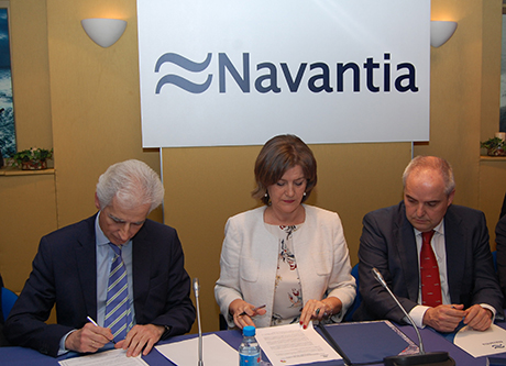 NAVANTIA and the trade unions conclude the agreement on The Strategic Plan 2018/22 and for the first Collective Agreement for all the Company's workplaces