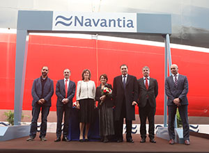 NAVANTIA celebrates in Puerto Real the delivery of the 3rd Suezmax oil tanker