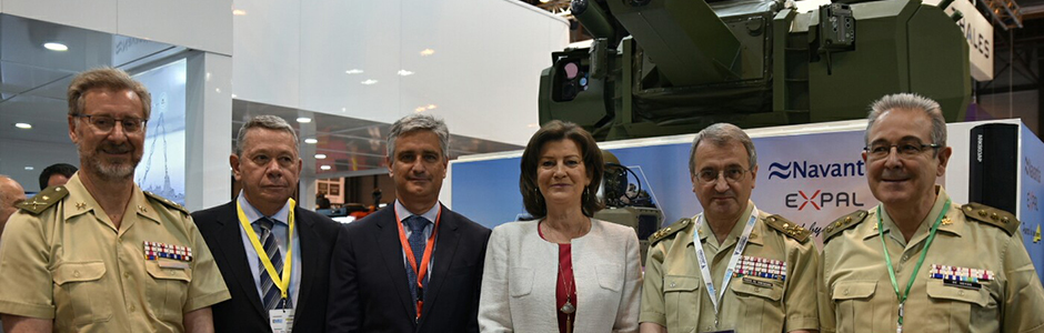 NAVANTIA deploys its latest technology in the International Defense Exhibition